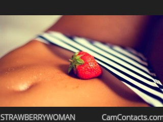 Webcam model STRAWBERRYWOMAN from CamContacts