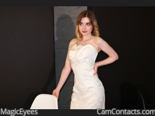 Webcam model MagicEyees from CamContacts