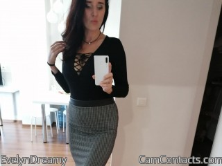 Webcam model EvelynDreamy from CamContacts