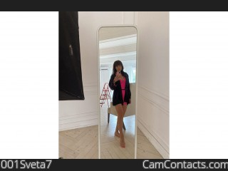 Webcam model 001Sveta7 from CamContacts