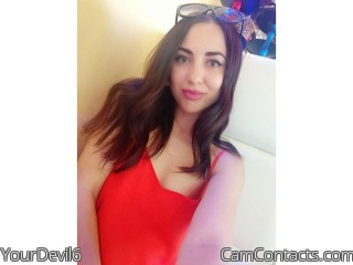 Webcam model YourDevil6 from CamContacts