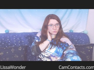 Webcam model LissaWonder from CamContacts