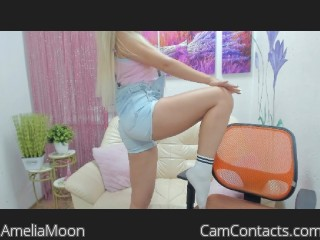 Webcam model AmeliaMoon from CamContacts