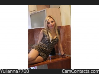 Webcam model Yulianna7700 from CamContacts