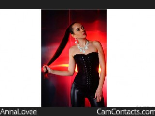 Webcam model AnnaLovee from CamContacts