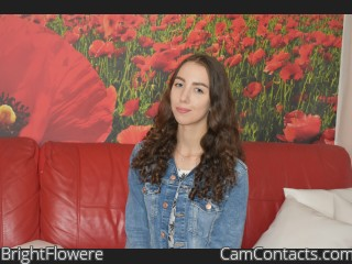 Webcam model BrightFlowere from CamContacts