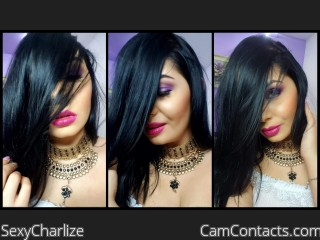 Webcam model SexyCharlize from CamContacts