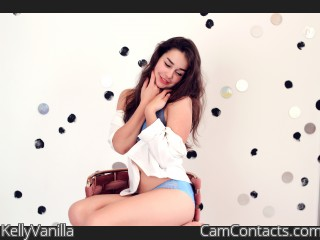 Webcam model KellyVanilla from CamContacts