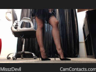 Webcam model MisszDevil from CamContacts