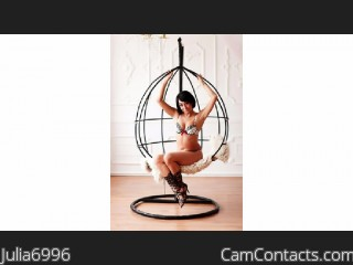 Webcam model Julia6996 from CamContacts