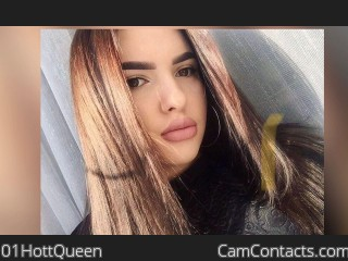 Webcam model 01HottQueen from CamContacts