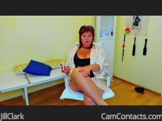 Webcam model JillClark from CamContacts