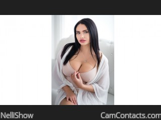 Webcam model NelliShow from CamContacts
