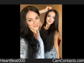 Webcam model HeartBeat000 from CamContacts