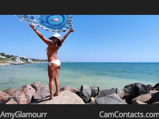 Webcam model AmyGlamourr from CamContacts