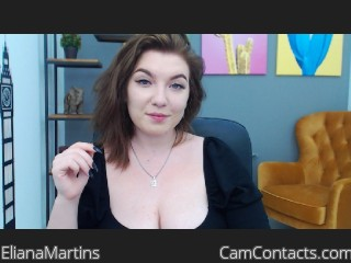 Webcam model ElianaMartins from CamContacts