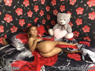 Webcam model SofiaAllen from CamContacts
