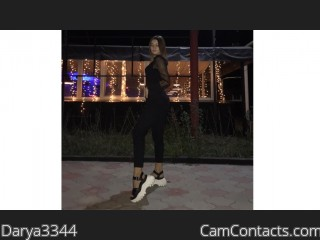 Webcam model Darya3344 from CamContacts