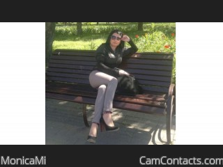 Webcam model MonicaMi from CamContacts