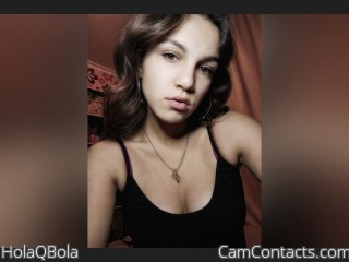 Webcam model HolaQBola from CamContacts