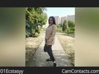 Webcam model 01Ecstasyy from CamContacts