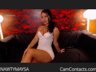 Webcam model NAWTYMAYSA from CamContacts
