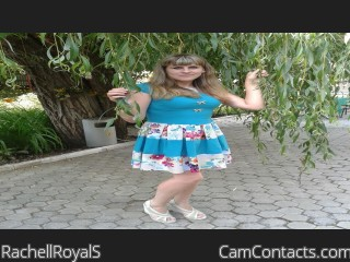 Webcam model RachellRoyalS from CamContacts