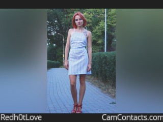Webcam model Redh0tLove from CamContacts