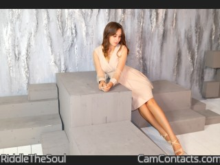 Webcam model RiddleTheSoul from CamContacts