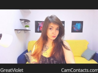 Webcam model GreatViolet from CamContacts
