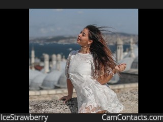 Webcam model IceStrawberry from CamContacts