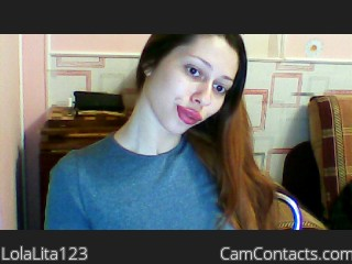 Webcam model LolaLita123 from CamContacts