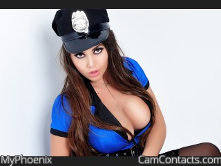 Webcam model MyPhoenix from CamContacts