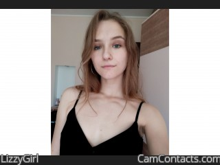 Webcam model LizzyGirl from CamContacts