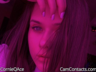 Webcam model CornieQAce from CamContacts