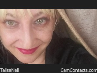 Webcam model TalisaNell from CamContacts