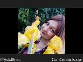 Webcam model CrystalRosa from CamContacts