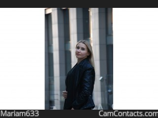 Webcam model Mariam633 from CamContacts