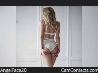 Webcam model AngelFace20 from CamContacts