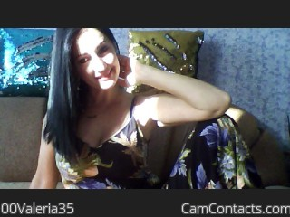 Webcam model 00Valeria35 from CamContacts