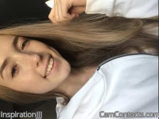 Webcam model InspirationJJJ from CamContacts