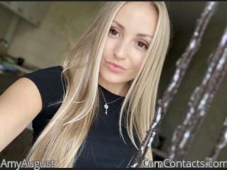 Webcam model AmyAugust from CamContacts