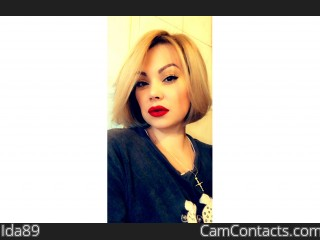 Webcam model Ida89 from CamContacts
