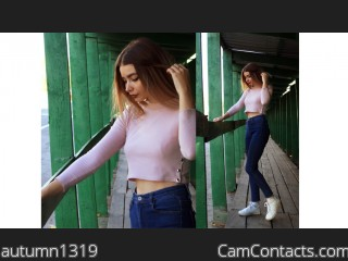 Webcam model autumn1319 from CamContacts