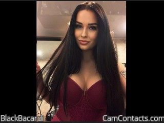Webcam model BlackBacardi from CamContacts