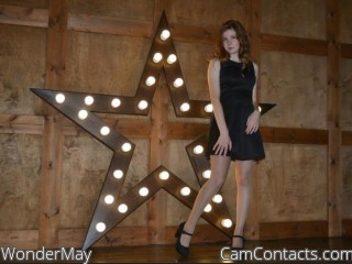 Webcam model WonderMay from CamContacts