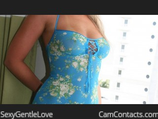 Webcam model SexyGentleLove from CamContacts