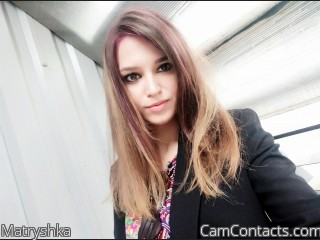 Webcam model Matryshka from CamContacts