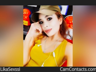 Webcam model LikaSexssi from CamContacts