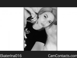 Webcam model Ekaterina016 from CamContacts